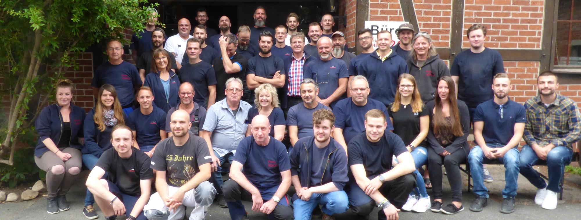 Team von Scholz Sanieungskonzepte GmbH & Co. KG